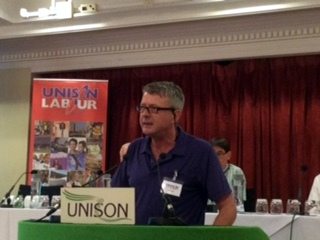 John Gray at UNISON Labour Link