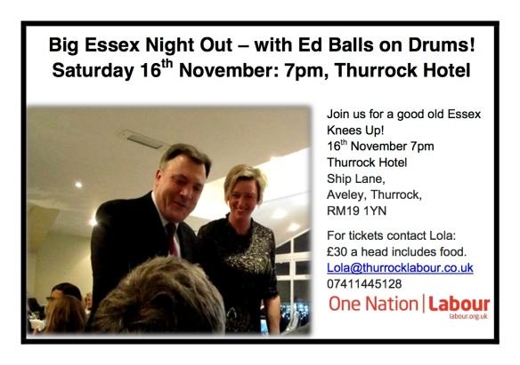 Ed Balls band night