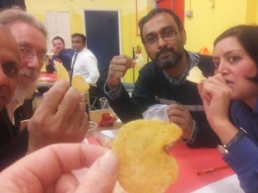 Crisp tasting round