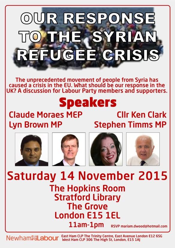 Syria event
