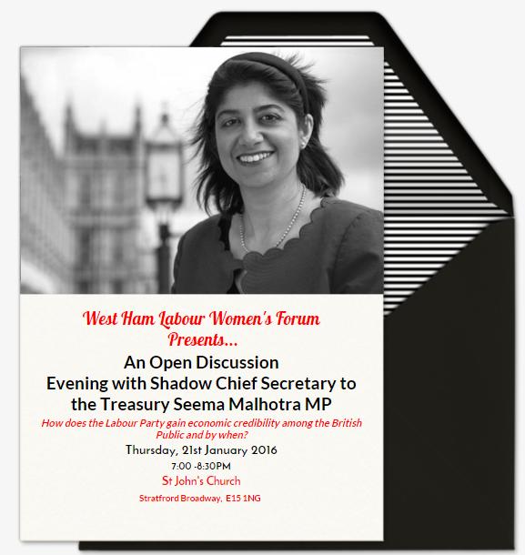 Seema Maholtra MP