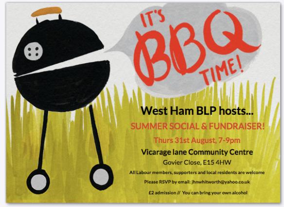 West Ham BBQ 31.8.17